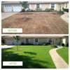 VOGVIGO Biodegradable grass seed mat fertilizer garden planting lawn planting mat 20x300cm