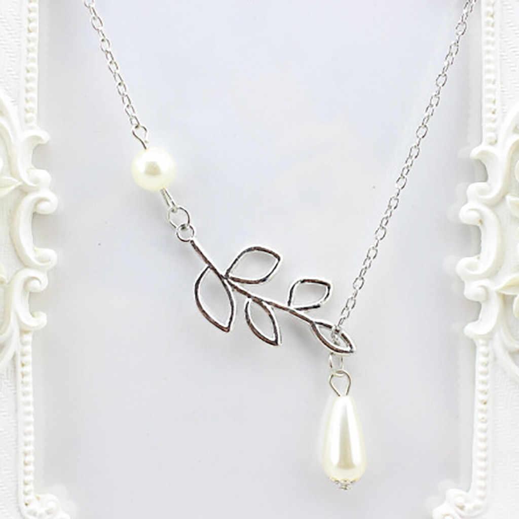 Caliente dama Noble mariposa collar de aleación joyería collares colgantes madre perla 2020 accesorios de vestido Collana di moda