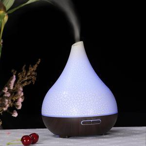 Image 2 - Heureusement 400ML ultrasons aromathérapie humidificateur huile essentielle diffuseur purificateur dair brumisateur fabricant arôme diffuseur brumisateur maison