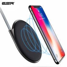ESR Wireless Charger QIชาร์จแบบUltra Slim Wireless Fast ChargerสำหรับiPhone X 11 SE 2020 8 PLUSสำหรับXiaomi samsung S20 Note10