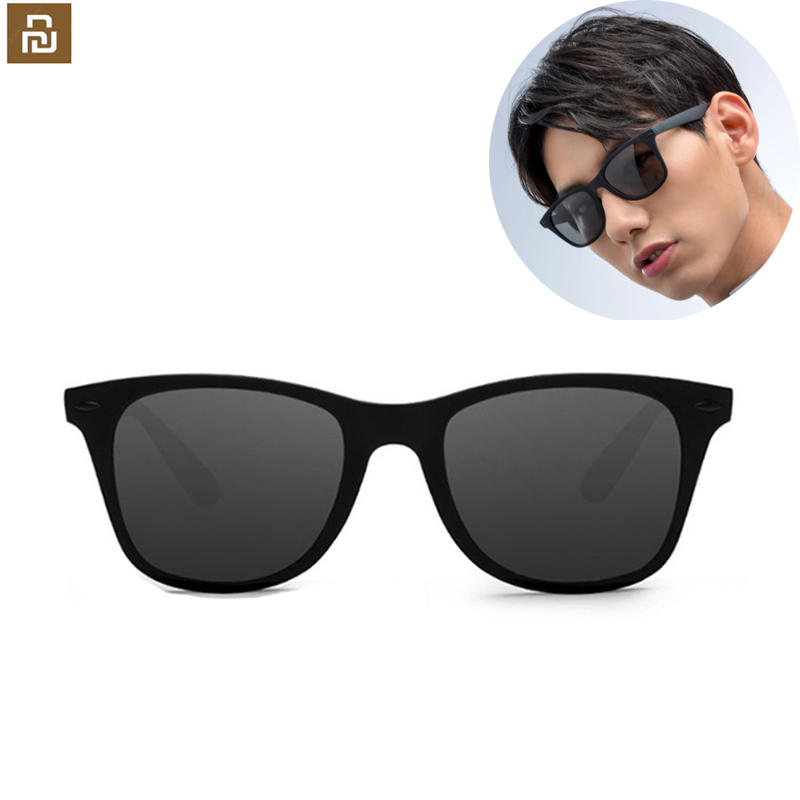 Новый Youpin TS Мода человеческий путешественник солнцезащитные очки STR004-0120 TAC поляризованные линзы УФ-защита для езды на велосипеде/Дорожная с...