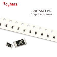 100Pcs 0805 Kit SMD Resistor 1% Tolerância 0R-392R 2.2R 2.4R 2.7R 3R 3.3R 3.6R 3.9R 10 Ohm Componentes Eletrônicos DIY Assorted Set