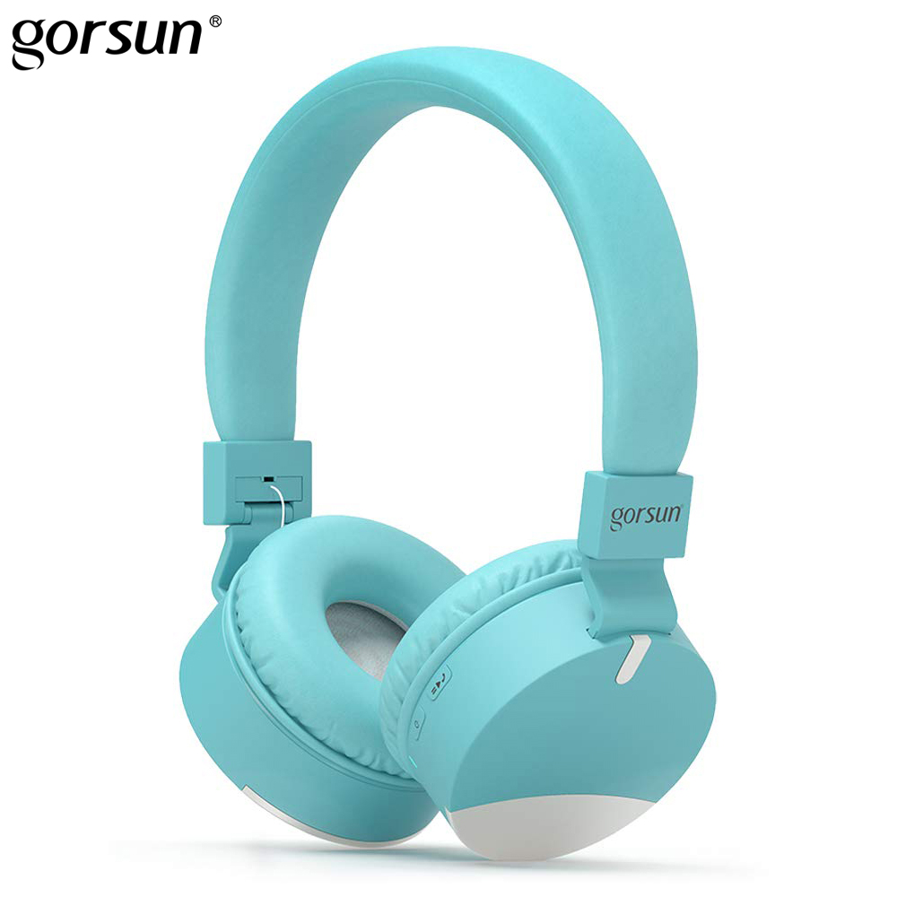 Bluetooth Wireless Headphones Foldable Headband Gorsun E86 Gaming Kids Earphones Stereo Headset with Mic for iphone Xiaomi PC