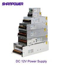 цена на DC 12V Power Supply 1A 2A 5A 10A 15A 20A 30A AC 110V/220V To DC 12V 24W 60W 240W 360W Switch Power Supply Adapter Power Supply