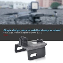 Camera Mount Adapter Connector Kit 360 Degree LED Light For DJI OSMO Action Mavic 2 Pro/Zoom