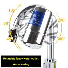Tap Water Purifier Kitchen Faucet Washable Ceramic Percolator Water Filter Filtro Rust Bacteria Removal Replacement Filter