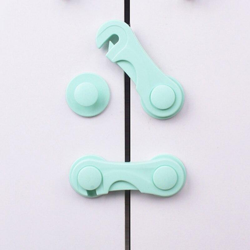 2 шт./лот замок для домашнего шкафа для защиты детей, запирающиеся двери для безопасности детей, пластиковый защитный замок