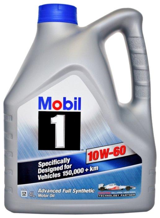 Масло моторное Mobil 1 синтетика 10w-60 4 л. 152719