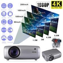 Мини проектор hd с инфракрасным управлением 1280x720p android