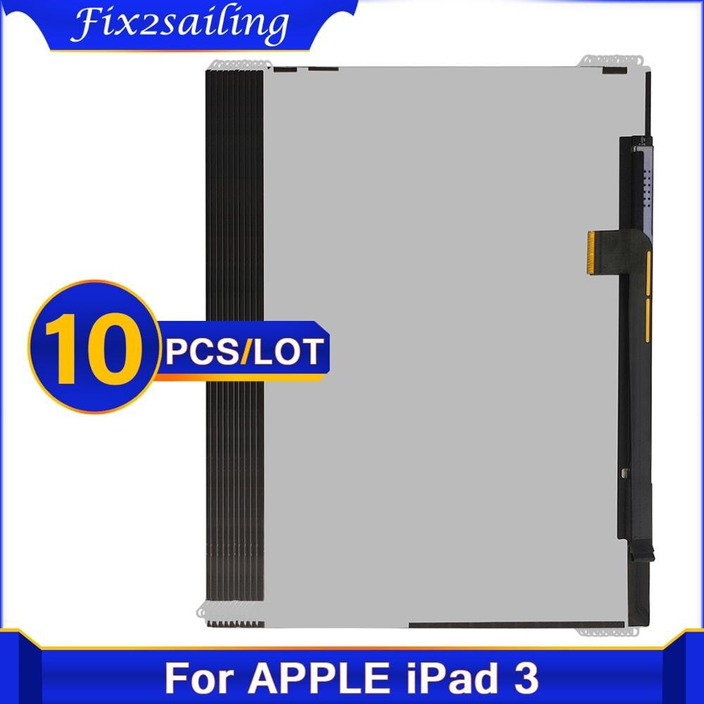 10 шт. протестированный ЖК-экран для Apple iPad 3 4 3-го 4-го A1416 A1430 A1403 A1458 A1459 A1460, ЖК-дисплей для планшета iPad3 iPad4 LCD