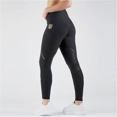 Женские штаны для верховой езды, бриджи для верховой езды, штаны для верховой езды, женские бриджи для верховой езды, Стрейчевые леггинсы для верховой езды, размер XXS-L - Цвет: Style 3-Black