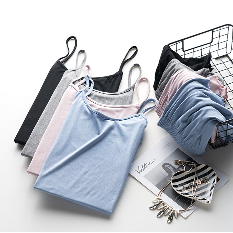 Pajimas For Women Sleepwear Sexy Pajama Set Summer Female Round Neck Nightgown Ladies Nightwear Shorts Vest Strap Homewear