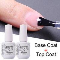 Esmalte de Gel semipermanente para manicura, imprimación de capa Base, sin necesidad de limpiar, Gel UV DE MANICURA