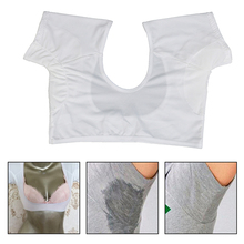 Sweat-Pads Perfume-Absorbing Underarm Washable 1-Pc T-Shirt-Shape Model-Weight-Is-Under