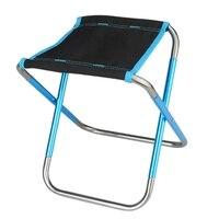 Outdoor Hocker Tragbaren Stuhl Kunst Student Klappstuhl Maza Aluminium Bank-in Camping Stuhl aus Sport und Unterhaltung bei