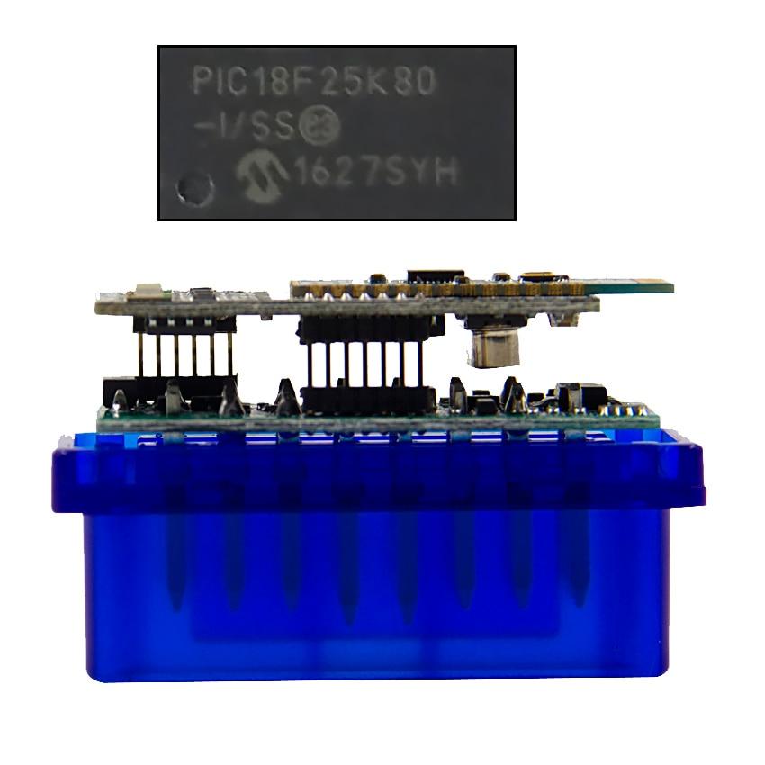Super Mini ELM 327 V1 5 PIC18F25K80 obd2 Scanner Bluetooth ELM327 V1 5 1 5 OBD Super Mini ELM 327 V1.5 PIC18F25K80 obd2 Scanner Bluetooth ELM327 V1.5 1.5 OBD 2 OBD2 Car Diagnostic Auto Tool ODB2 Code Reader