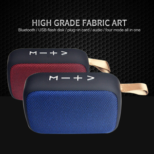 Mini Bluetooth Speaker Portable Wireless Loudspeaker Sound Stereo Music Surround Outdoor Speaker Support FM TF Card Speakers