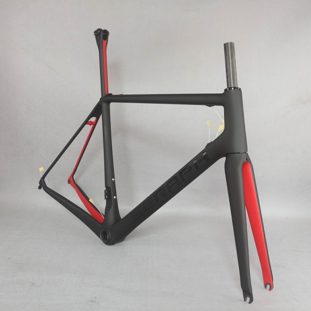 2020 SERAPH New T1000 Super Light Carbon Frame  FM609 Carbon Frame SGS Test Frame Chinese Red Color Paint Frame