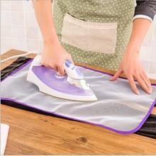 Устойчивый к высоким температурам термоизоляционный коврик для глажки, коврик, бытовой Защитный Сетчатый тканевый чехол