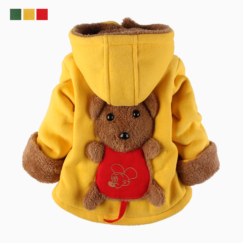 Fashion Baby Boys Jackets  Autumn Winter Kids Warm Thick Parkas Jacket Children Outerwear Girl Coat Boys Girls Clothes