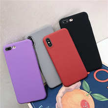 Soft Silicone Matte phone Case For Meizu