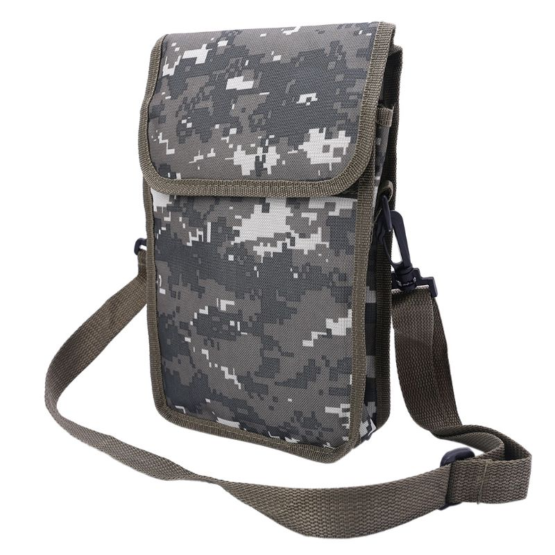 New Metal Detector Bag Camo Oxford Waist Shoulder Belt Pouch Good Luck Gold Nugget Bags For Metal Detecting