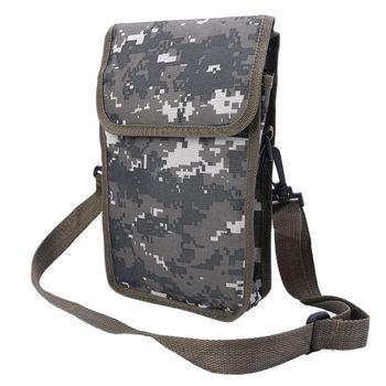 New Metal Detector Bag Camo Oxford Waist Shoulder Belt Pouch Good Luck Gold Nugget Bags For Metal Detecting фото