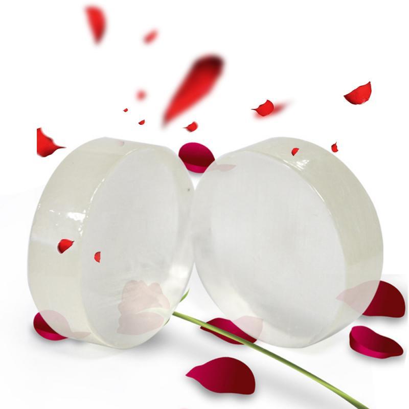 Whitening Natural Enzyme Crystal Soap Brighten Skin Soap Rose Revitalizing Soap Moisturizes Skin Face Beauty Care Soap TSLM1