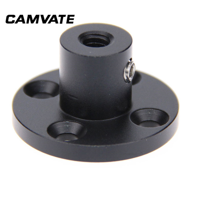 """CAMVATE Photography Wall Ceiling Table Mount Support Holder With 1/4"""" 20 Female Thread For Table/Podium/Wall /Ceiling Connecting"""