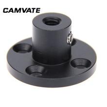 """Monture de Support de montage de Table de plafond de mur de photographie de CAMVATE avec le fil femelle 1/4 """" 20 pour la connexion de Table/Podium/mur/plafond"""