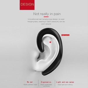 Image 2 - Beengeleiding Oortelefoon Sport Bluetooth Headset Handsfree Auto Driver Oorhaak Draadloze Bluetooth Oortelefoon Met Microfoon Voor Jogging