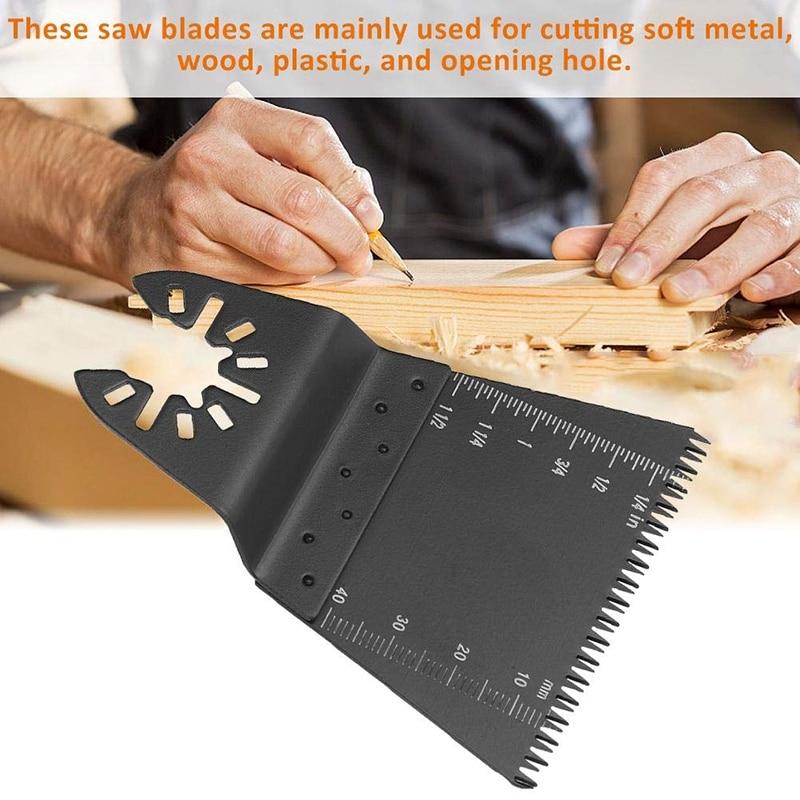 10pcs Multi-Function Precision Saw Blade Oscillating Multitool Saw Blade For Renovator Power Cutting Multimaster Tools