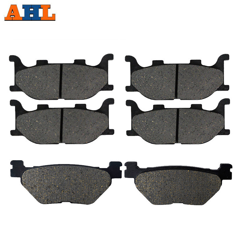 AHL Brake-Pads YP400 400-Majesty Yamaha Xp500 Tmax 500 Motorcycle T-Max And Rear Front title=