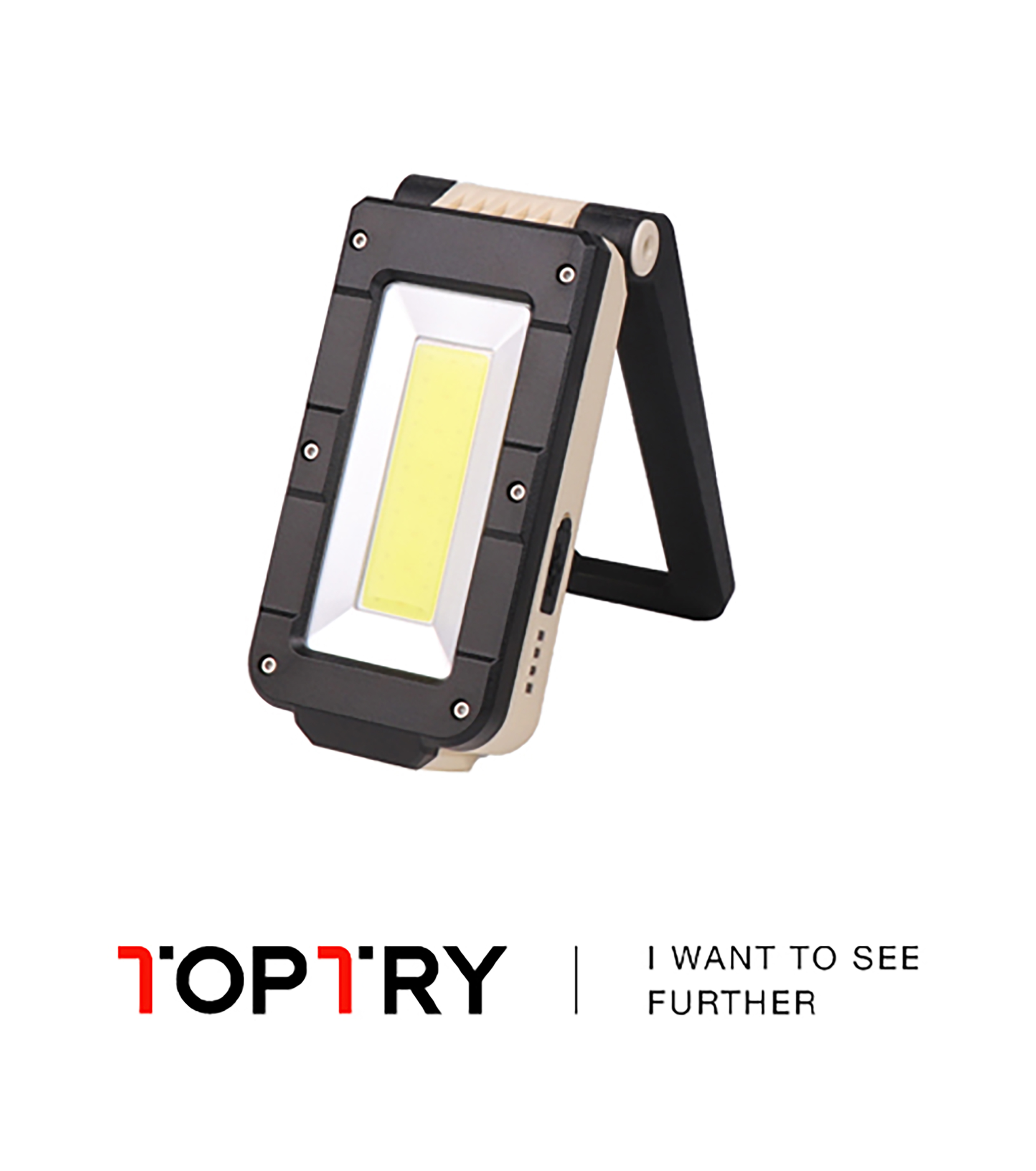 Outdoor Rechargeable LED Work Light Magnetic Lanterna Hanging Car Inspection