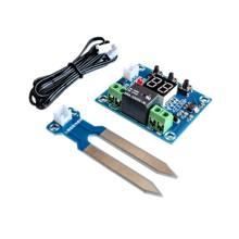 XH-M214 12v controlador do sensor de umidade do solo sistema irrigação módulo rega automática display digital controlador umidade vermelho