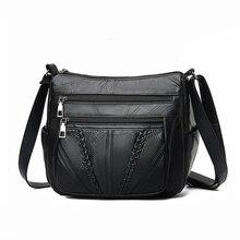 Nuevo bolso de hombro de moda para mujer, bandolera de diseñador con solapa pequeña de cuero, bolsos de tejido clásico de alta calidad
