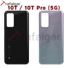 Funda trasera para Xiaomi Mi 10T Pro 5G, carcasa para la puerta trasera, reemplazo con adhesivo
