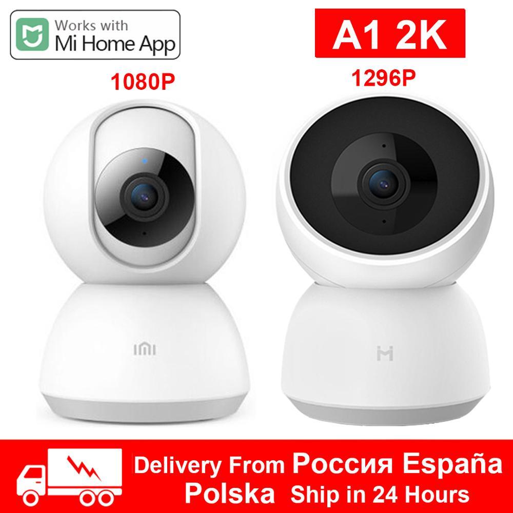 Xiaomi-cámara inteligente 2K, 1296P, 1080P, HD, 360 ángulos, WiFi, visión nocturna, cámara de vídeo IP, Monitor de seguridad para bebés, Mihome, gran oferta