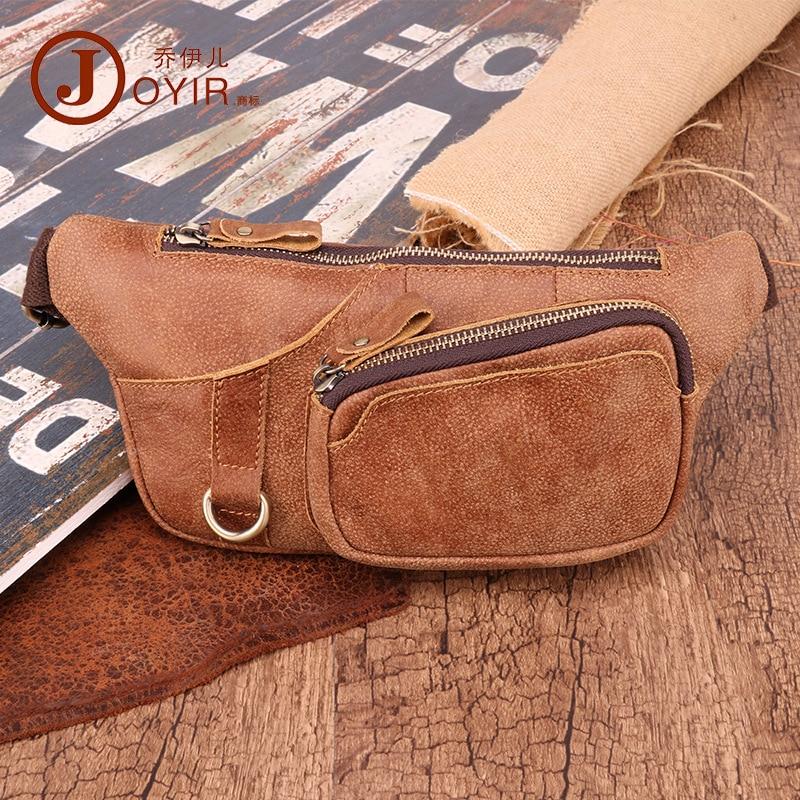 Men Wallet Korean-style Multi-functional Outdoor Waist Chest Pack Shoulder Sports Bag Nubuck Leather MEN'S Real-leather Bag