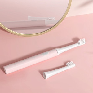 Image 5 - Электрическая зубная щетка Xiaomi Mijia T100 Sonic, водонепроницаемая ультразвуковая автоматическая зубная щетка для взрослых, перезаряжаемая USB IPX7