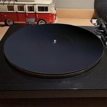 12นิ้ว3มม.อะคริลิคบันทึกPad Anti Static LPแผ่นไวนิลSlipmatสำหรับแผ่นเสียงPhonographอุปกรณ์เสริม