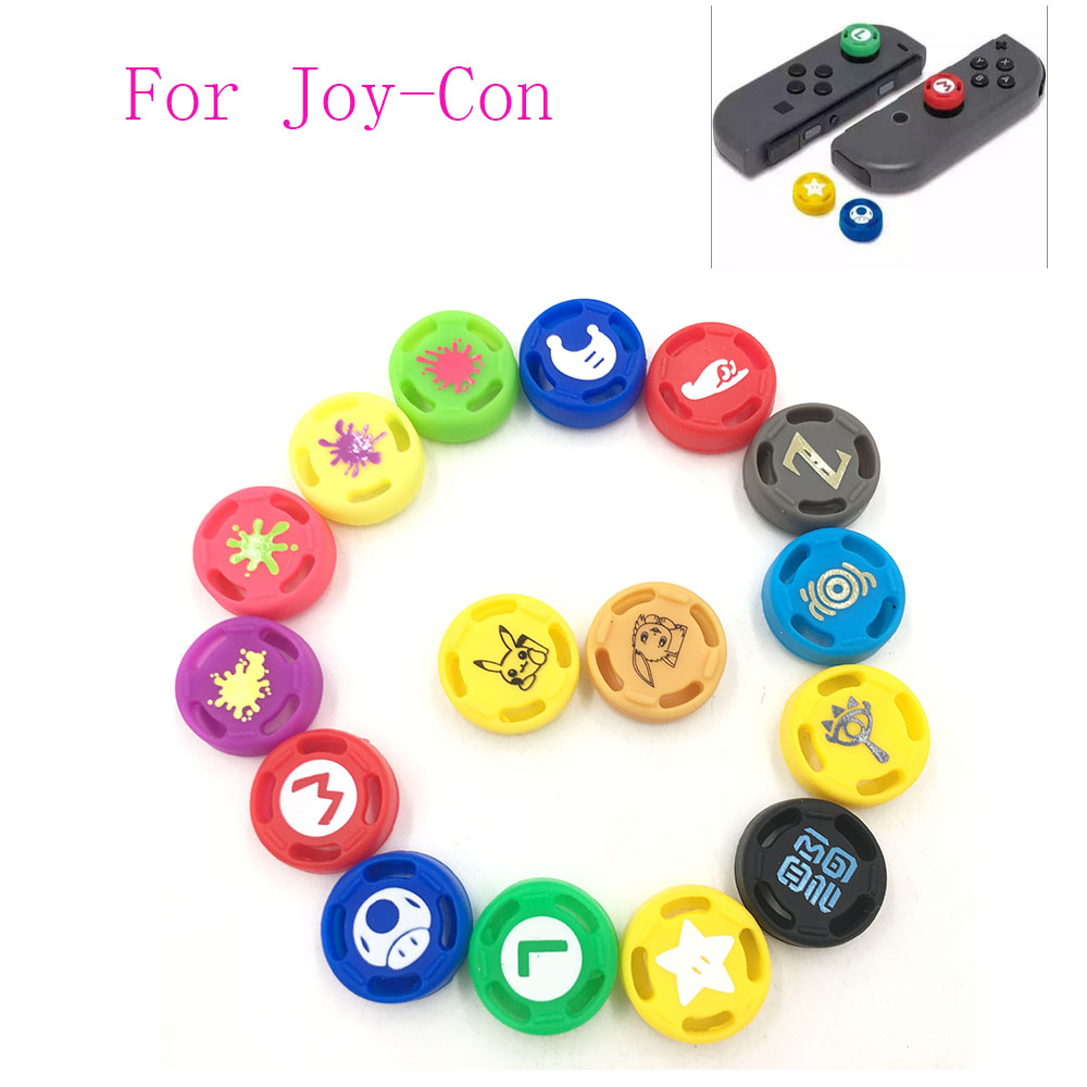 Thumb Grip Set Joystick Cap Thumbstick Cover For Nintendo Switch Joy-Con Controller
