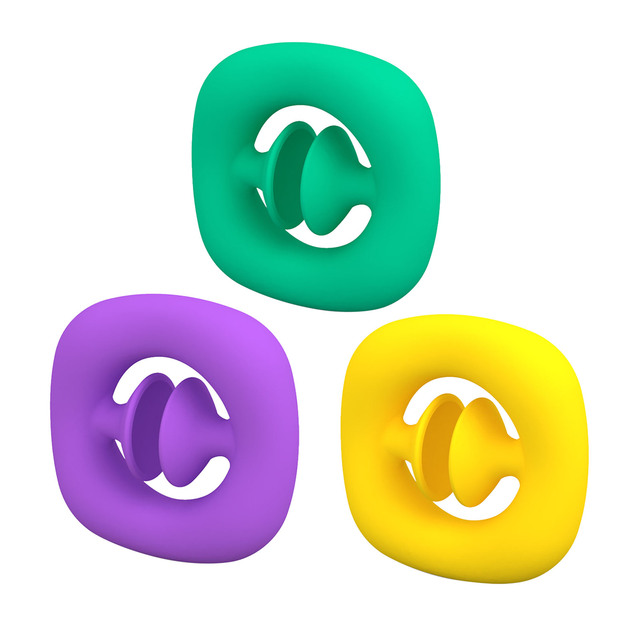 Anti Stress Finger Hand Grip Stress Reliever Fidget Toy Adult Child Simple Dimple Stress Toys Decompression Pop It Dropshipping 2