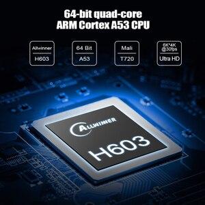 Image 3 - 2020 X96H Android 9.0 Smart TV Box 4GB RAM 64GB H603 6K 4GB RAM 32GB Dual Wifi BT4.1 Google Player Youtube Set top box X96 max