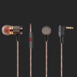 Image 5 - Brand New KZ EDR1 Special Edition Gold Plated Housing Earphone with Microphone HD HiFi In Ear Stereo Bass Earbuds for Phone