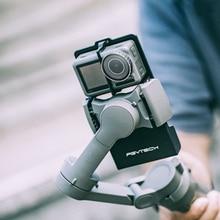 PGYTECH عمل كاميرا محول ل oomo موبايل 4 2 3 zhiyun Gimbal Gopro بطل 9 8 7 6 5 4 3 xiaoyi 4K السلس جبل لوحة كاميرا