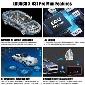 Image 4 - LAUNCH X431 Pro Mini ECU Mã Hóa Xe Công Cụ Chẩn Đoán Tất Cả Hệ Thống OBD2 Máy Quét Actuation Thử Nghiệm Wifi Bluetooth Ô Tô Máy Quét OBD