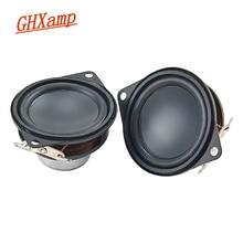 GHXAMP 1.5 pouces 40MM néodyme gamme complète haut parleur Bluetooth haut parleur composite pot bas bord en caoutchouc 8 ohm 3W 2 pièces