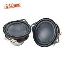 GHXAMP 1.5inch 40MM Neodymium Full Range Speaker Bluetooth speaker composite pot bottom rubber edge 8 ohm 3W 2PCS