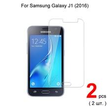 0.26mm 9H Premium temperli cam Samsung Galaxy için J1 2016 koruyucu cam ekran koruyucu için Samsung J1 2016 cam